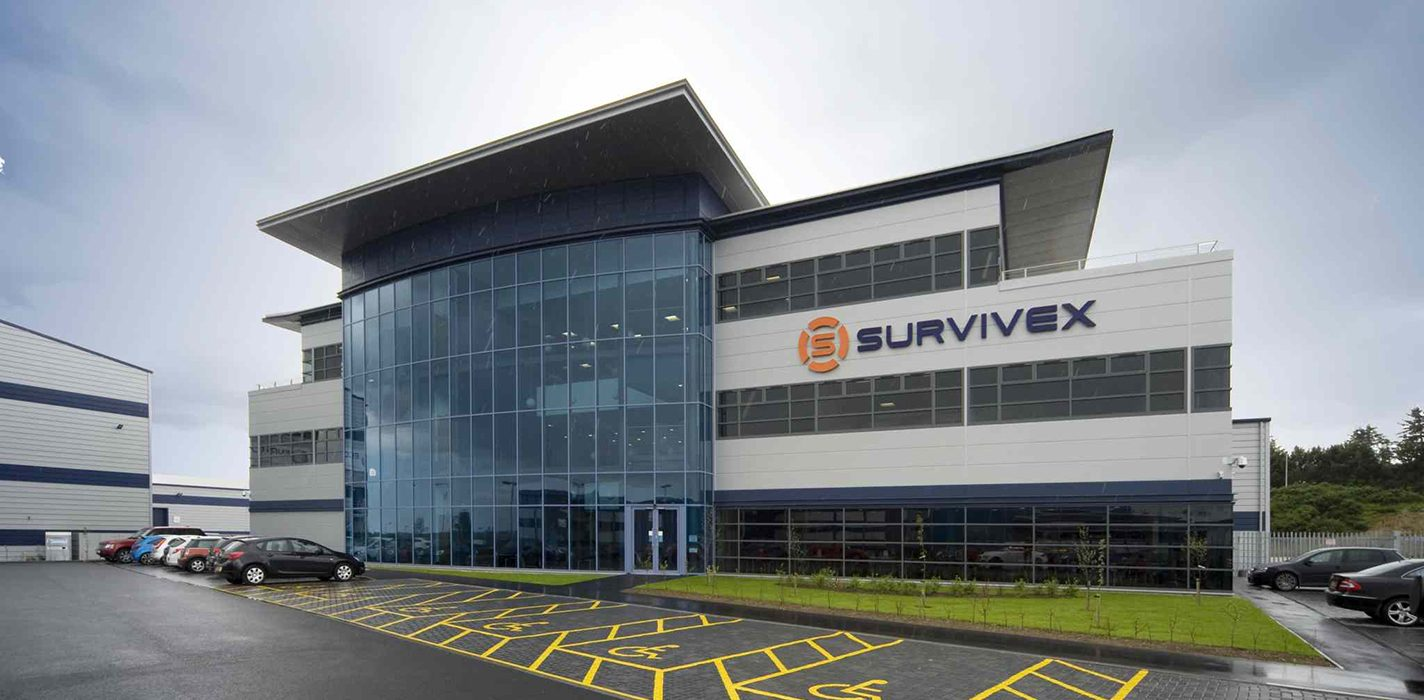 Survivex building in Aberdeen