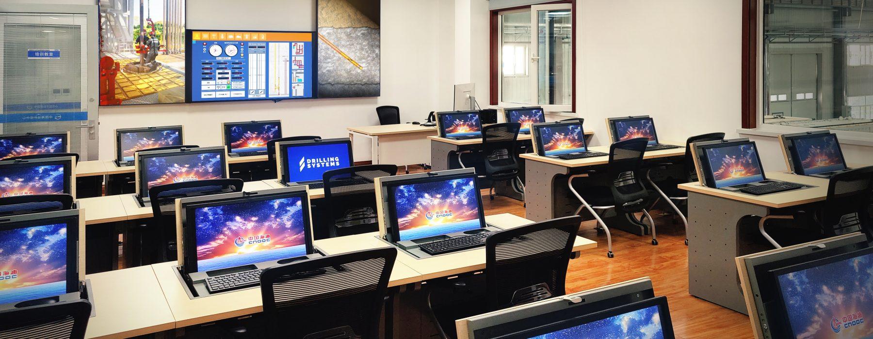 DrillSIM:Educator setup a CNOOC's Well Control Center